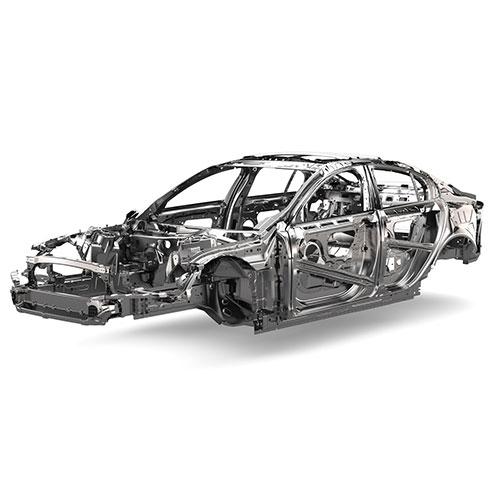Jaguar aluminium structural repairs